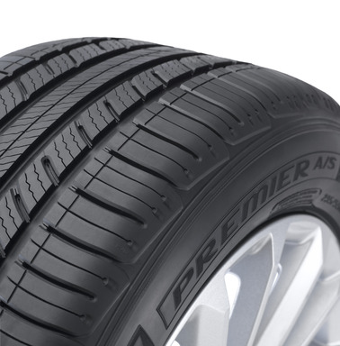Pattern tread design Michelin Premier A/S