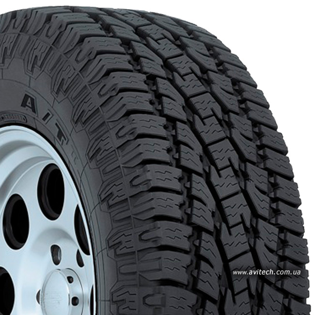 Toyo Open Country A/T II pattern tread design