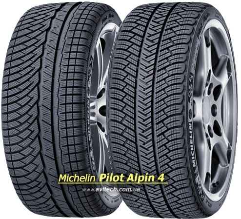 235/55 R18 [104] V PILOT ALPIN 4 XL - MICHELIN